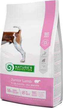 Изображение 1 - Nature's Protection Junior All breeds Ягненок